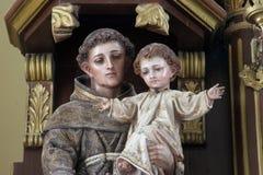 St. Anthony of Padua Stock Photo