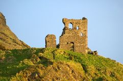 St Anthony's Chapel. Ruins of the medieval St Anthony's Chapel in Holyrood Park, Edinburgh, Scotland Royalty Free Stock Photos