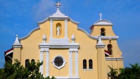 St. Anthony`s Church, Manila, Philippines. The Philippines is the fourth largest Christian country, and the third larges Catholic country, in the world Stock Images
