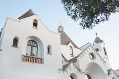 St- Anthonykirche in Alberobello Lizenzfreies Stockbild