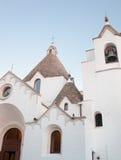 St- Anthonykirche in Alberobello Stockfotos