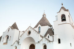 St- Anthonykirche in Alberobello Lizenzfreies Stockfoto