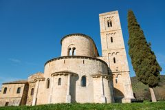 St. Antimo Abbey Stock Images