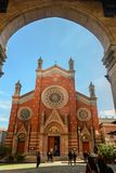 St. Antoine Catholic Church in Istanbul, Turkey stock photography