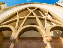 St Antoine Greek Catholic Church i Beirut, Libanon royaltyfri foto