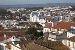 St Anton Church in Evora. Portugal Royalty Free Stock Images