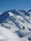 St Anton di Mountain View Immagini Stock Libere da Diritti