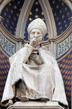 St. Antoninus Antonio Pierozzi, the Archbishop of Florence. Portal of Cattedrale di Santa Maria del Fiore Cathedral of Saint Mary of the Flower, Florence Stock Photos