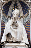 St. Antoninus Antonio Pierozzi, the Archbishop of Florence. Portal of Cattedrale di Santa Maria del Fiore Cathedral of Saint Mary of the Flower, Florence Royalty Free Stock Photos