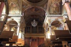 St. Antonio Abate Church interior Royalty Free Stock Photos