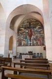 St. Antonio Trullo教会。 Alberobello。 普利亚。 免版税库存图片