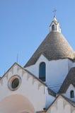 St. Antonio Trullo Church. Alberobello. Puglia. Stock Images
