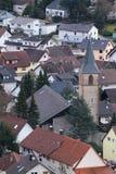 St. Antonius Church in Ebersteinburg, Baden-Wurttemberg, Germany Royalty Free Stock Images