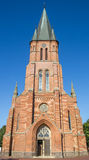St. Antonius church in the historical center of Papenburg. Germany Royalty Free Stock Image