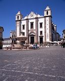 St Antons Church, Evora. Stock Photo