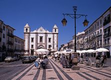 St Antons Church, Evora. Royalty Free Stock Photos