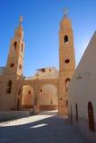 St. Antony Christelijk Klooster, Egypte. Royalty-vrije Stock Foto