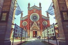 St Antuan教会在伊斯坦布尔 库存图片