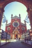 St Antuan教会在伊斯坦布尔 图库摄影