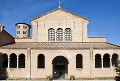 St. Apollinare in Classe basilica church Stock Photo