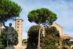 St. Apollinare in Classe church Royalty Free Stock Photo
