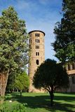St. Apollinare in Classe round tower Royalty Free Stock Image