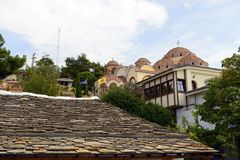 St Archangel Michael Monastery in Thassos Stock Image