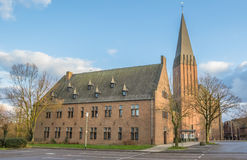 St. Arnold Janssen Chuch in Goch Royalty Free Stock Photos