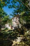 St Astvatsatsin Święta matka bóg kościół ruiny w Aghveran Obrazy Stock