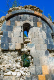 St Astvatsatsin Święta matka bóg kościół ruiny w Aghveran Fotografia Stock