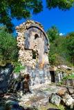 St Astvatsatsin Święta matka bóg kościół ruiny w Aghveran Obrazy Royalty Free