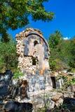 St Astvatsatsin Święta matka bóg kościół ruiny w Aghveran Zdjęcia Stock