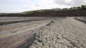 St Audries Bay Somerset England uk pan view stock video