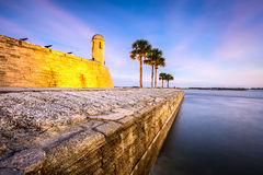 ST Augustine, οχυρό της Φλώριδας Στοκ εικόνες με δικαίωμα ελεύθερης χρήσης