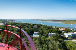 St. Augustine Aerial View Royalty Free Stock Photos