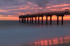 St Augustine Beach Pier photo libre de droits