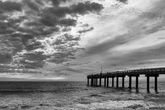 St Augustine Beach Pier photos libres de droits