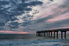 St Augustine Beach Pier images libres de droits