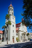 St Augustine Cathedral - St Augustine, FL photo stock