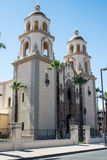 St. Augustine Cathedral in Tucson royalty-vrije stock afbeelding