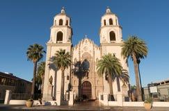 St Augustine Catherdral in Tucson, Arizona royalty-vrije stock foto