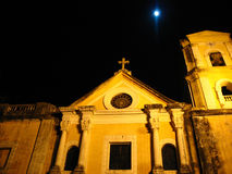 St. augustine church at night. This is the st. augustine church in intramuros, manila Stock Photos