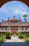 St Augustine de construção histórico espanhol Florida imagem de stock royalty free