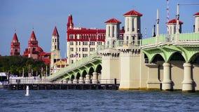 St Augustine, de Horizon van Florida stock footage