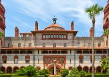 St Augustine di costruzione storico spagnolo Florida Immagini Stock Libere da Diritti