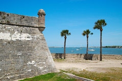 St. Augustine Eclipse Royalty Free Stock Photography