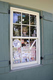 St Augustine FL,August 8th:Shop Window in Colonial County of St Augustine from Florida Royalty Free Stock Photography