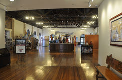 St Augustine FL,August 8th:Visitor Center interior from St Augustine in Florida Stock Images