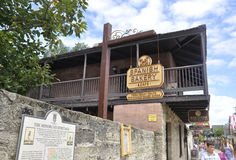 St Augustine FL, Augusti 8th: Spanskt bageri i det koloniala länet av St Augustine från Florida Arkivbilder