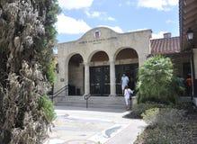 St Augustine FL, el 8 de agosto: Edificio de centro del visitante de St Augustine en la Florida Imagen de archivo